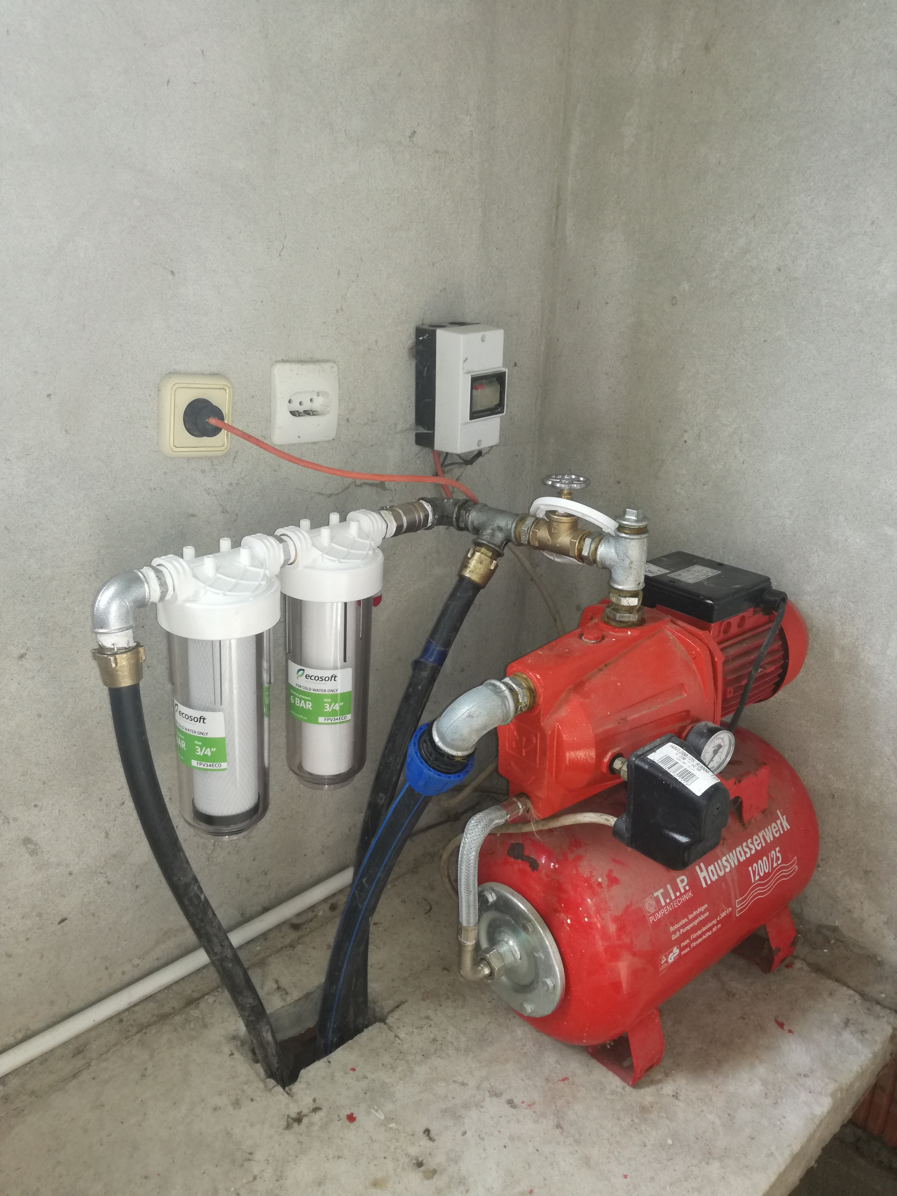 Veloki filteri i pumpa